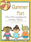 Summer Language Homework Packet