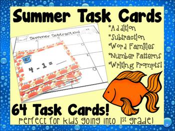 Summer Task Cards!