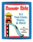 Summertime: Task Cards & Good-Bye Poems for Students Leavi