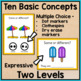 Summer Task Cards: Basic Concepts (Special Education & Speech Therapy)