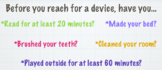 Summer Technology Rules
