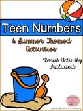Summer Teen Number Activities