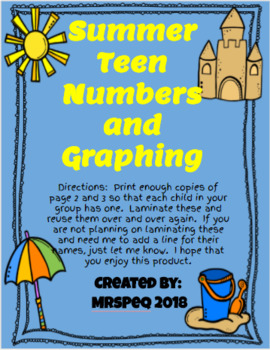 Summer Teen Number Graphing
