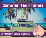 Summer Ten Frame Activity