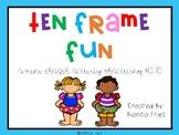 Summer Ten Frame Fun #0-20
