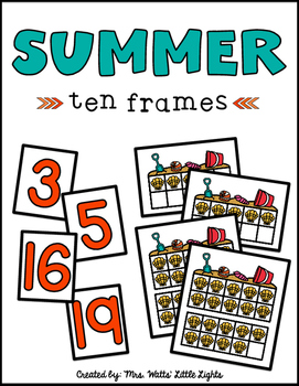 Summer Ten Frames