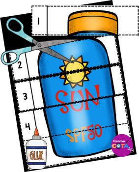 Summer Theme Differentiated Activities and Worksheets