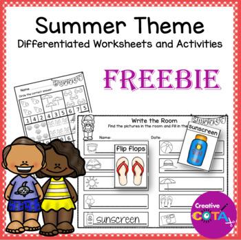 Summer Theme Freebie