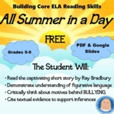 "Short Story ""All Summer in a Day"": Metaphors, Inferences, Textual Evidence FREE"