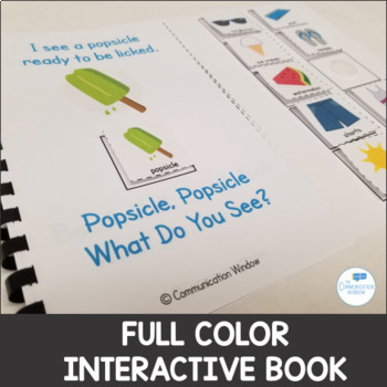 Summer Theme - Interactive Adapted Book Pack - Dollar Deal!