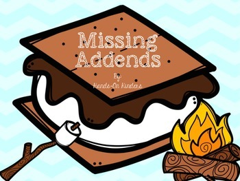 Summer Theme Missing Addends