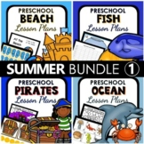 Summer Theme Preschool Lesson Plan and Summer Activities BUNDLE 1