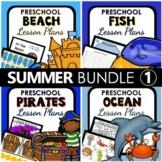 Summer Theme Preschool Lesson Plan and Summer Activities BUNDLE 1