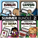 Summer Theme Preschool Lesson Plan and Summer Activities BUNDLE 2