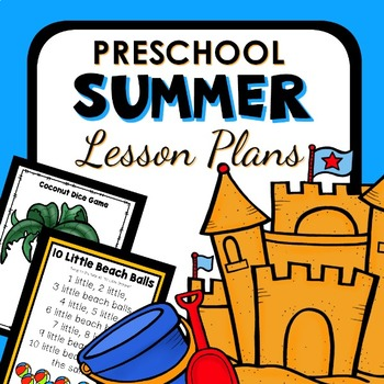 Summer Theme Preschool Lesson Plans - Summer Activities by ...