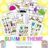 PRESCHOOL Summer Theme Printables