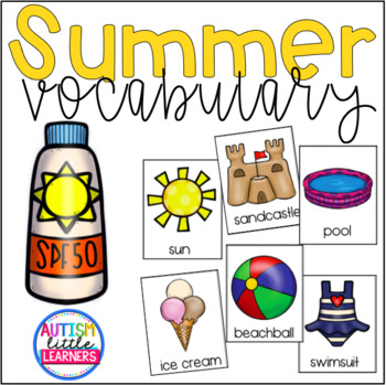 Summer Theme Vocabulary
