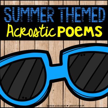 Summer Acrostic Poems