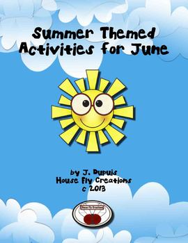 Summer Themed Activities for June