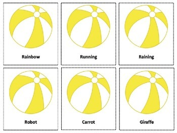 Summer-Themed Articulation Game for S, R, L, and TH Sounds! FREEBIE!