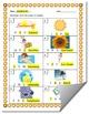Summer-Themed Beginning Sound Identification Worksheet