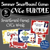 Summer Themed CVCe Smartboard Games BUNDLE (Smartboard/Promethean Board)