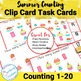 Summer Themed Count and Clip Cards