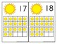 Summer Themed Counting Mats 1-20 with Suns