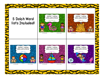 Summer Themed Dolch Word Games - BUNDLE! All lists included!