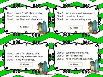 Summer Themed Drawing Conclusions Trivia Game