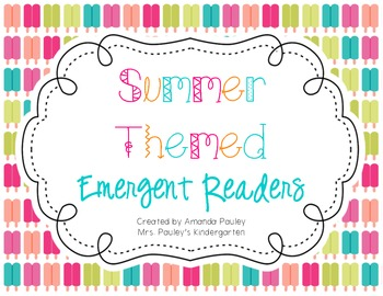 Summer Themed Emergent Readers