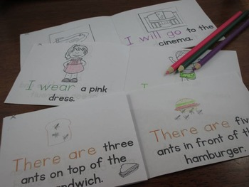 Summer Themed Emergent Readers:  Set of 3 mini-books