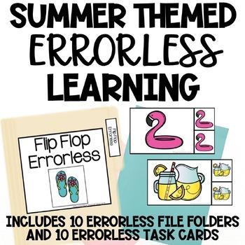 Summer Themed Errorless Activities