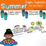 Summer-Themed Graphic Organizers {For Any Story!}