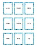 Summer Themed Homophone Concentration Game - Triplets