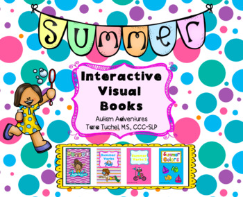 Summer Themed Interactive Visual Books
