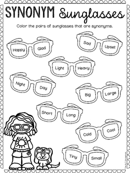 Summer Themed Language Activities- for Speech therapy, ELA and EAL.