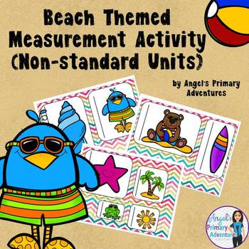 Summer Themed Measurement Activity with non-standard units