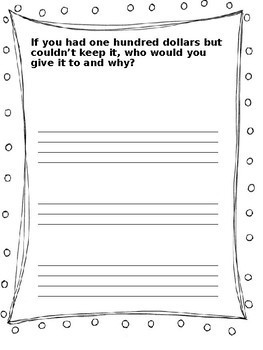 Summer Themed Persuasive Writing Prompt Notebook