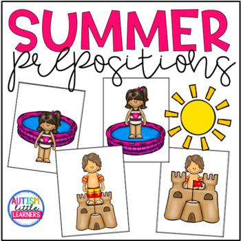Summer Themed Prepositions