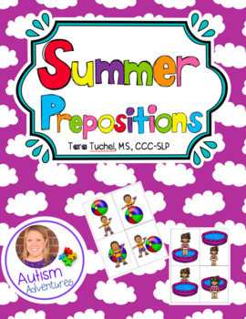 Summer Themed Prepositions