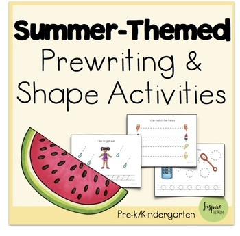 Summer-Themed Prewriting Activities