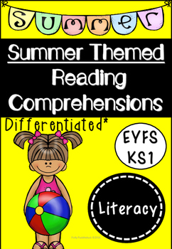 Summer Themed Reading Comprehensions (Differentiated)