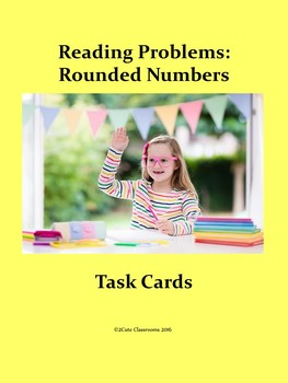 Summer Themed Rounding Reading Problems for Lower Elementary