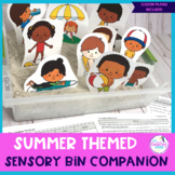 Summer Themed Sensory Bin Companion For Speech & Language