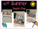 Summer Themed Sensory Bins
