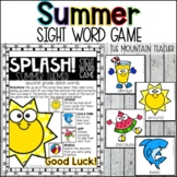Summer Themed Sight Word Game