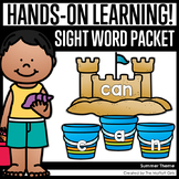 Summer Themed Sight Word Packet