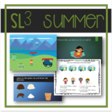 Summer-Themed Speech, Language, Literacy, and Listening Therapy