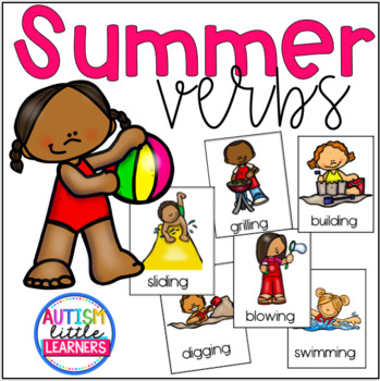 Summer Themed Verbs